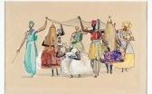 Exposição das aquarelas do artista Carybé