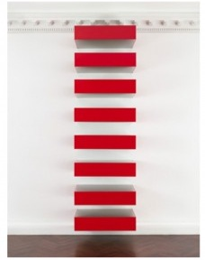 <br />Donald Judd  [Art © Judd Foundation. Licensed by VAGA]