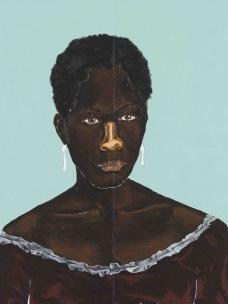 """""""Zeferina"""", 2018, de Dalton Paula, doação do artista no contexto da exposição HIstórias Afro-atlânticas, 2018<br />Imagem divulgação"""