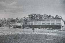 Residência Olivo Gomes logo após sua construção