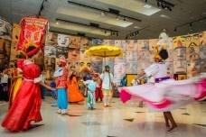Teatro Popular Solano Trindade, na abertura da exposição<br />Foto Guilherme Luiz de Carvalho