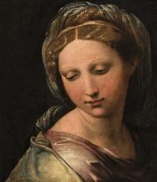 Raffaello Sanzio, La Perla di Modena, 1518-1520. <br />Imagem divulgação