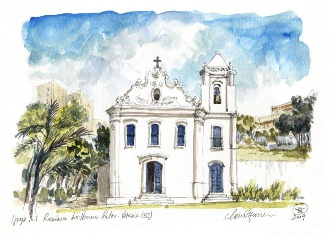 N. S. do Rosário dos Homens Pretos Church, Vitoria, 18th century