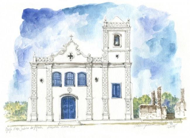 Church Nossa Senhora da Ajuda, Viana, 18th century