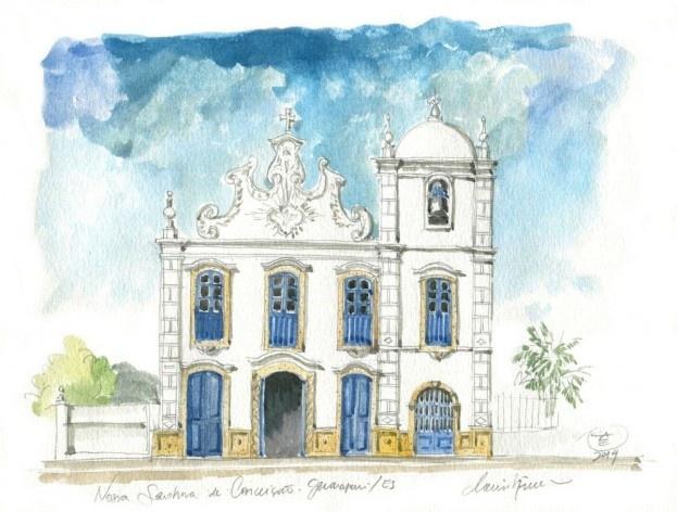 Church Nossa Senhora da Conceição, Guarapari, 16th century