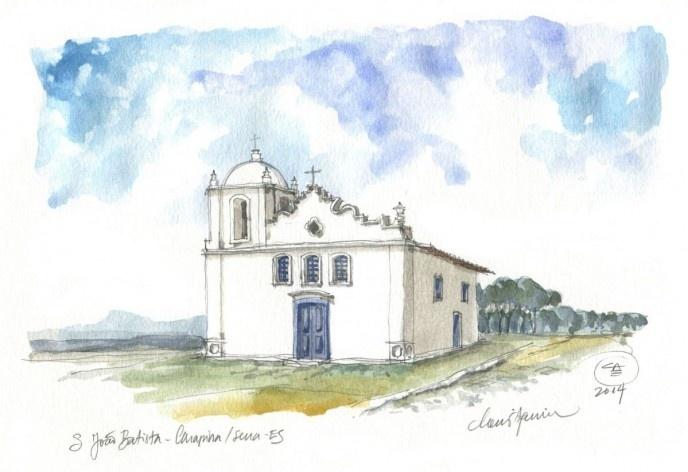 São João Batista Church, Carapina, Serra, 16th century