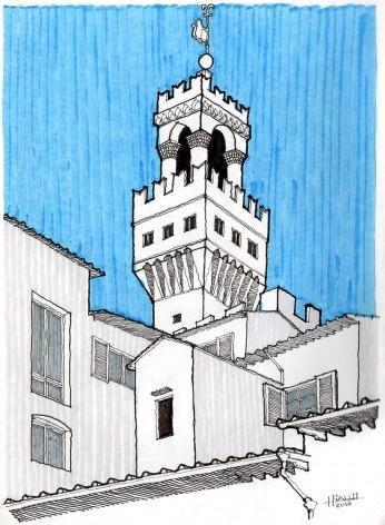 Torre do Palazzo della Signoria, Firenzi