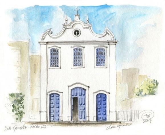 Church São Gonçalo, Vitoria, 18th century