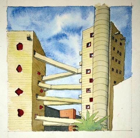 Sesc Pompeia, São Paulo, arquiteta Lina Bo Bardi