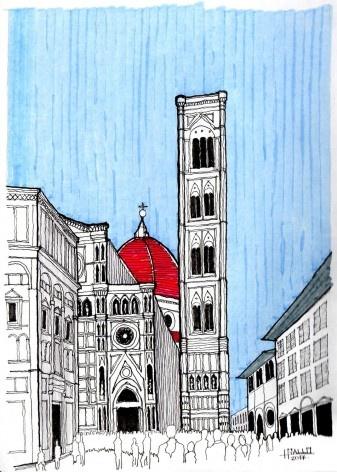 Campanário da Igreja Santa Maria del Fiore, Firenzi