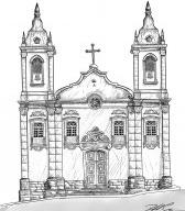 Igreja Nossa Senhora do Rosário, São João del-Rei MG Brasil