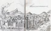 Rio de Janeiro visto do Mirante Dois Irmãos
