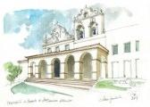 Frontispício do Convento de São Francisco, Vitória, séculos 16-18