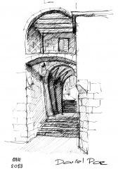 Porta da Catedral, Santiago de Compostela, Espanha