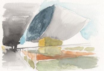 Museu Oscar Niemeyer, Curitiba PR Brasil