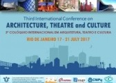 III International Conference on Architecture, Theatre and Culture