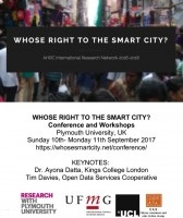 Whose right to the smart city?