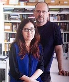 Silvana Romano e Abilio Guerra, editores do Portal Vitruvius e Romano Guerra Editora<br />Foto divulgação