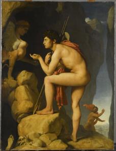 Édipo e a Esfinge, 1808, Jean-Auguste Dominique Ingres<br />Imagem divulgação