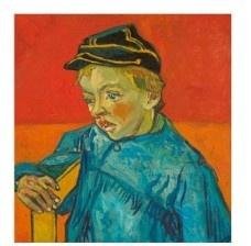 <br />Vincent van Gogh, 'O escolar (O filho do carteiro - Gamin au Képi)', 1888, acervo MASP