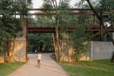 Conjunto de Edificios y espacios públicos Parque de la Juventud, São Paulo, Aflalo & Gasperini Arquitetos, Rosa Grena Kliass, 2007<br />Foto Nelson Kon