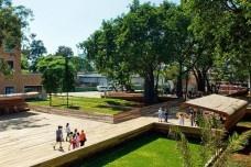 Museo de la Sustentabilidad, Centro de Información y Plaza Víctor Civita, São Paulo, Adriana Levisky, Anna Julia Dietzsch, 2008<br />Foto Nelson Kon