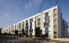 "Residencial Corruíras, arquiteto Marcos Boldarini, prêmio APCA ""Urbanidade"" <br />Foto Daniel Ducci"