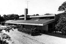 Residência Diete Hering, Blumenau, 1978. Arquiteto Hans Broos<br />Foto divulgação  [Acervo Hans Broos]