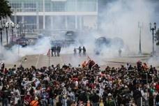 Protestos em Curitiba<br />Agência Brasil