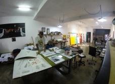 Studio treze – Ateliê de Daniel Melim em São Bernardo do Campo<br />Foto divulgação  [OMA Galeria]