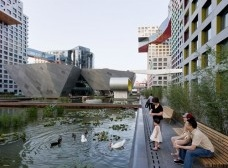 The Linked Hybrid in Beijing, China image courtesy of Iwan Baan<br />Steven Holl