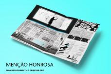Na condição de menção honrosa foi indicada a proposta do acadêmico Matheus Vieira de Paiva da Universidade Paulista - UNIP - São Paulo/SP<br />Imagem divulgação