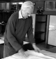 Hans Broos (1921-2011)<br />Foto divulgação  [Acervo Hans Broos]