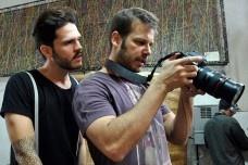Bastidores do programa 'Nos Trinques'<br />Foto divulgação  [Website GNT]