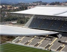 Architecture project for the Braga Stadium Braga, Portugal, 2000-2003<br />Photos by Luis Ferreira Alves