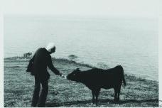 Claude na ilha Oki, em 1977