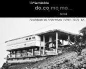 13º Seminário Docomomo Brasil