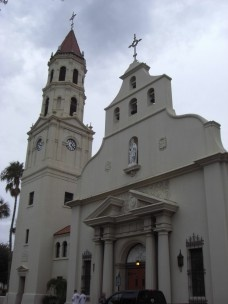 St. Augustine Cathedral, one of the oldest buildings in the Florida town<br />Diego Delso  [wikkicommons]