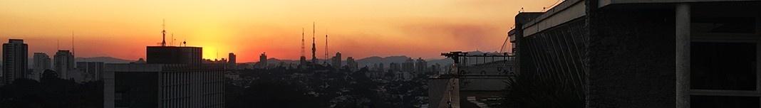 Crepúsculo em São Paulo. Foto Abilio Guerra