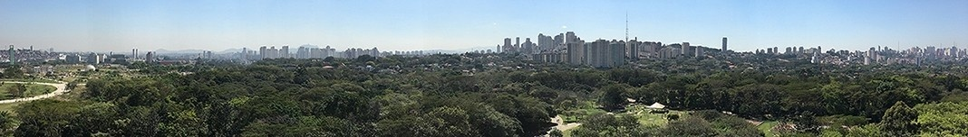 Parque Villa-Lobos, São Paulo. Foto Victor Hugo Mori