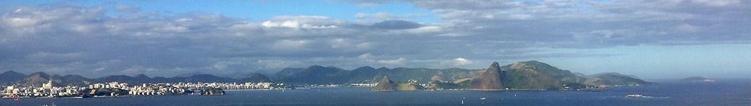 Baía de Guanabara, Rio de Janeiro e Niterói. Foto Abilio Guerra