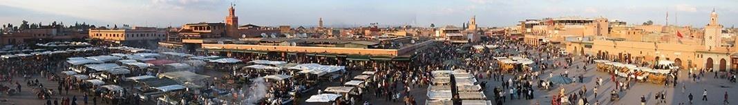 Praça Jamaa el-Fna, Marrocos. Foto Victor Mori