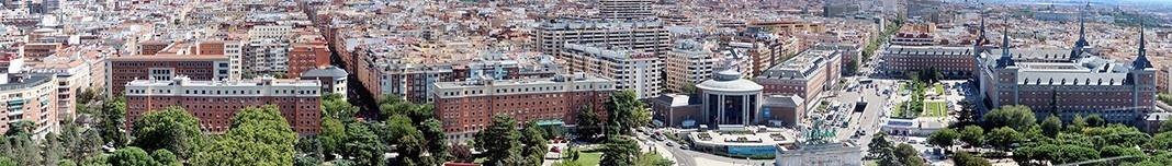 Vista de Madri a partir do Faro de Moncloa. Foto Victor Hugo Mori