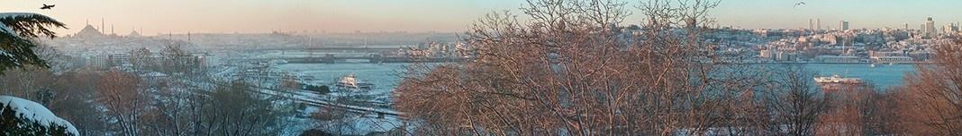 Istambul visto do Topkapi. Foto Michel Gorski