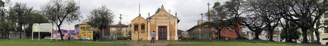 Capela do Divino Espírito Santo, Largo do Divino, Sorocaba SP. Foto Victor Hugo Mori