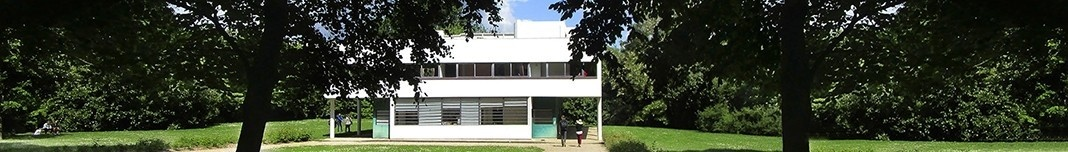 Villa Savoye, Poissy, 1928, arquiteto Le Corbusier. Foto Victor Hugo Mori