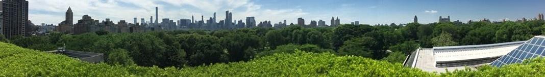 Vista panorâmica de Nova York a partir do The Metropolitan Museum of Art - MET. Foto Michel Gorski
