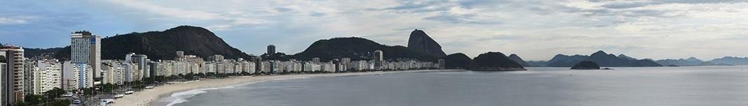 Praia de Copacabana, Rio de Janeiro. Foto Victor Hugo Mori