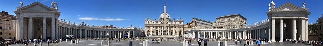 Praça e Basílica de San Pietro, Vaticano. Foto Victor Hugo Mori