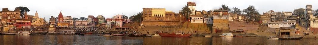 Varanasi, Rio Ganges, Índia. Foto Victor Hugo Mori